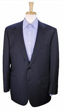 * BRIONI * Recent Solid Charcoal Gray 2-Btn Suit Blazer Jacket 44R