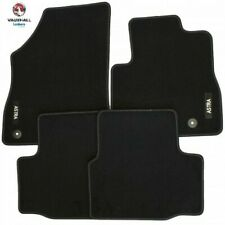 CITROEN DS3 2010 ON UNIVERSAL CAR FLOOR MATS BLACK WITH RED TRIM