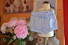 short cyrillus 12 mois neuf bleu gros noeud devant tres doux