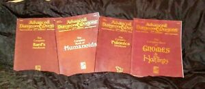 AD&D The Complete Book of Lot of 4