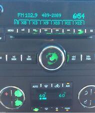 2007-2013 GMC ACADIA RADIO A/C PACKAGE OF REPAIR DECALS