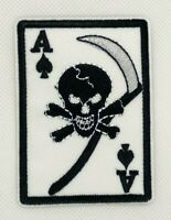 poker pirate Ace of Hearts  iron-on patch PLAYING CARD embroidered emblem 362