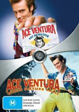 Ace Ventura 1 + 2 (Double Pack) (DVD, 2008, 2-Disc Set) Region 4