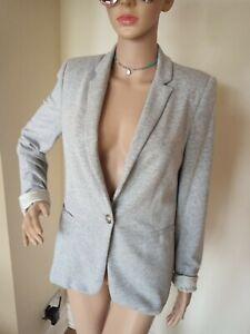 Zara Jersey Blazer. Size medium.