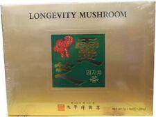 100pcs Korean Lingzhi Mushroom Ganoderma Longevity Mushroom Tea 3g Stick V E
