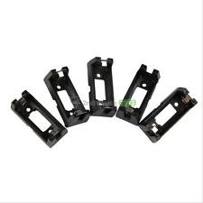 5X CR123A CR123 Lithium Battery Holder Box Clip Case with Solder Mounting  BEST