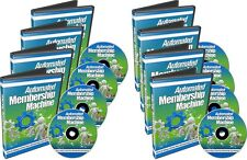Learn How to Create an Automated Membership Site - 10 Part Video Course - CD