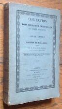 RARE 1839 Code de Commerce du ROYAUME DE HOLLANDE