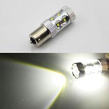 2x 6V 1156 BA15S 50W CREE LED White Car Brake/Turn/Tail /Reverse Light Bulb