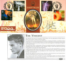 1 FEBRUARY 2000 FIRE AND LIGHT BENHAM BLCS 174 FDC SIGNED BY TIM VINCENT