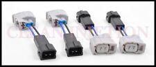 Honda Civic Acura RSX K20 K24 R18 RDX 410cc Fuel Injectors connectors adapters