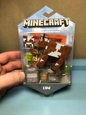 New 2019 Mojang Mattel Minecraft Cow with Comic Maker Book