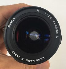 Mamiya 7 43mm Lens And Viewfinder