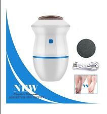 Portable Electric Vacuum Adsorption Foot Grinder Foot File Pedicure Tools WHITE