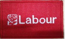 Labour Party Iron On Patch beautifully embroidered made with finest quality