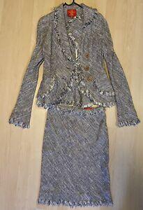 Vivienne Westwood Red Label Skirt/Jacket Suit Size 42