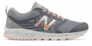 New Balance Women's FuelCore NITREL Trail Shoes Silver with Pink