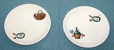 "2 Villeroy & Boch Luxembourg Wine & Dine 7 1/2"" Salad Dessert Plates - Very Good"