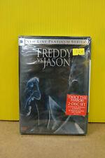 Freddy vs. Jason Platinum Series 2-Disc Dvd Set Ritter Englund Rowland