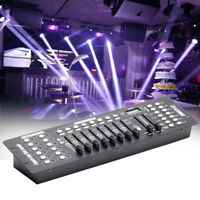 192 Channels Stage Light Controller Console DMX 512 Party DJ Disco KTV Lighting