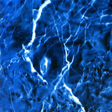 """Hydrographics Film Electric Blue Marble 39"""" x 39"""""""