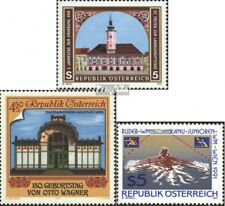 Austria 2034,2035,2036 (complete.Expenditure) unmounted mint / never hinged 1991