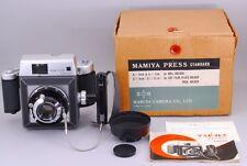 【EXC++++】Mamiya press 23 standard 6x9 holder film camera w/90mm Lens  from JAPAN