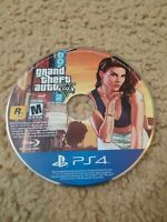 Grand Theft Auto V GTA 5 (Playstation 4, PS4, 2014) Game Disc Only Ships Fast