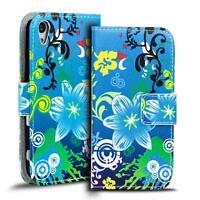 Handy Tasche für Sony Xperia Z3 Plus Hülle PU Leder Motiv Schutzhülle Case