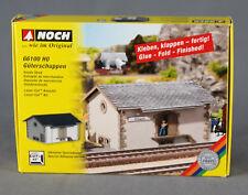 """NOCH 66100 [H0, Bausatz """"Lasercut""""] - Güterschuppen - NEUWARE!"""