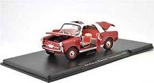 AUTOBIANCHI Bianchina Transformable 1958  red Sonderpreis Fabbri Atlas  1:24