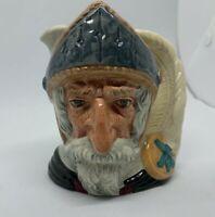 Don Quixote Small Character Toby Jug Royal Doulton