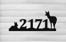 Whitetail Deer Address Sign - Clingermans