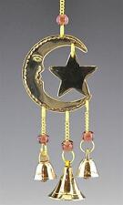 Celestial Crescent Moon & Star Beaded Wind Chime!