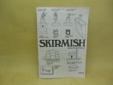 SKIRMISH GAME RULES BOOKLET(American Heritage)