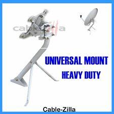 Satellite Dish Antenna Universal Outdoor Tripod Mount Heavy Duty DirecTV Pole