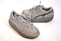 MBT Sport 04 Light Gray Rocker Fitness shoes Walking Sz 6.5/8-8.5 womens 39