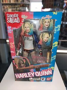 Bandai S.H.Figuarts Suicide Squad Harley Quinn authentic! DC! Awesome!
