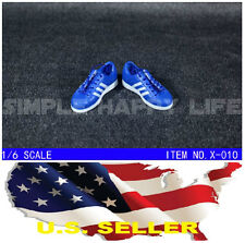 """adiNEW 1/6 shoes Adidas style blue color men sneaker for 12"""" figure hot toy USA"""