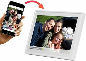Denver WiFi Digital Photo Frame 10.1 Inch, iPhone & Android App, 8GB Storage And