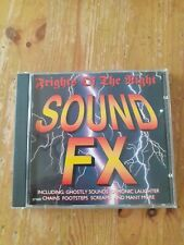 Frights Of The Night Sound FX SPOOKY SOUND EFFECTS CD EFX001