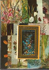UdSSR Russia 1970 zweites Leben der Blumen Flovers Rare Set 15 MC MK Folder New!