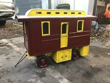Live Steam Living Van For 3 Inch Scale Traction Engine - Lovely Piece!