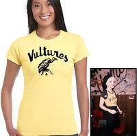 As Worn By Blondie Vultures Womens T-Shirt Deborah Debbie Harry