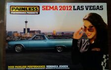 2012 SEMA Painless Performance Products/Veronica Jensen El Camino Car poster
