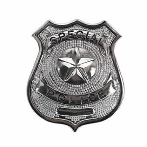 Special Police Iron on Screen Print transfer for fabric Machine Washable badge