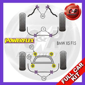 Fits BMW F15 X5 (2013-)  Powerflex Complete Bush Kit