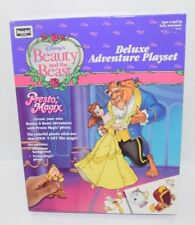 Disney BEAUTY AND THE BEAST Presto Magix Deluxe Adventure Playset NEW Rose Art
