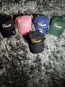 Finesse Cuts NYC Snap Cap Embroidered Cotton Adjustable Dad Hat Times Square NYC