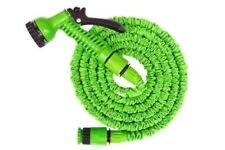 Deluxe 25 50 75 100 Feet Expandable Flexible Garden Water Hose w/ Spray Nozzle (